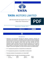 Tata Motors Roadshow Presentation for ECB USD 500 Million.pdf