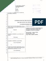 Order Granting Demurrer to SAC File Endorsed