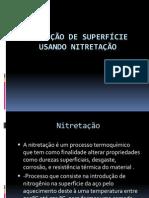 Proteção de superfície usando nitretação