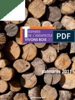 Les Trophees de l'Architecture Vivons Bois 2011