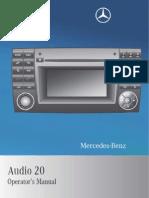 Mercedes Benz Manual Audio 20