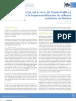 Deficiencias en el uso de Geosintéticos para la impermeabilización de rellenos sanitarios en México_JJMR_jun-jul 2011