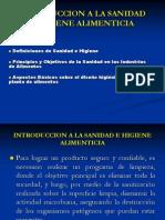 Introduccion+a+La+Sanidad+e+Higiene+Alimenticia