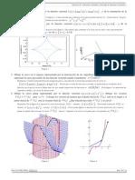 Ejercicios 01. Funciones Vectoriales y Derivadas de Funciones Vectoriales