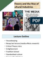 7. Critical Theory