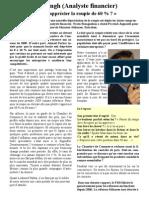 Interview Le Defi Quotidien 3 Nov 2010