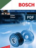 BOSCH CATÁLOGO POLIA 2005