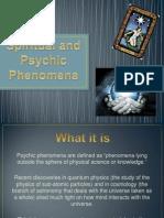 Spiritual and Psychic Phenomena