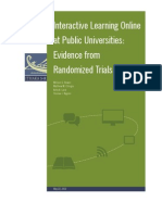 Interactive Learning Online At Public Universities