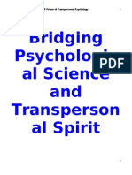 A Primer of Trans Personal Psychology
