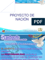 Proyecto de Nación