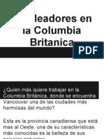 empleadores de extranjeros Columbia Britanica