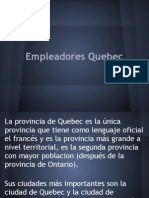 empleadores Montreal