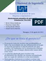 PRESENTACION DE PROYECTO