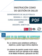 La Admin is Trac Ion Como Sistem de Gestion Semana 4 PPT