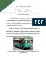 La Buseta Una Identidad Urbana,  Juan Carlos Pérgolis