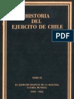 Historia del Ejército de Chile. Tomo IX. El Ejército después de la segunda guerra mundial (1940-1952).