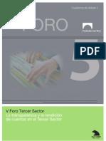 La Transparencia y La Rendicion de Cuentas Del Tercer Sector