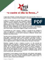 Manifesto Bomba Scuola Brindisi