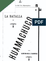 La Batalla de Huamachuco (1885)