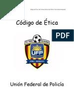 Codigo de Etica 1er Invitacional de Futbol 7 de La UFP Valencia 2012