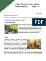 2012-05 B' Church Newsletter