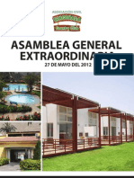 Documento de Asamblea Mayo 2012