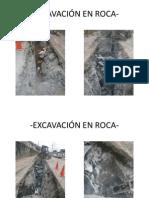 EXCAVACIÓN EN ROCA-
