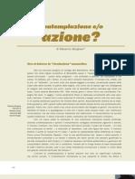 Contemplazione-Azione Massimo Borghesi