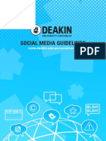 Deakin Social Media Guide