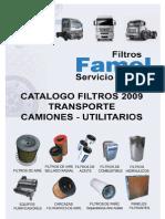 Catalogo Filtros Famel Transporte Filtros Para Camiones Utilitarios Revmar 09