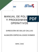 Manual de Proced. AEM DISA Callao-Abril 08