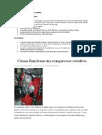 Características del compresor rotativo
