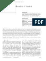 Mesoudi, Etal., Towards a Unified Science of Cultural Evolution 2011