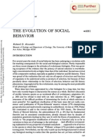 Alexander 1974 the Evolution of Social Behaviour