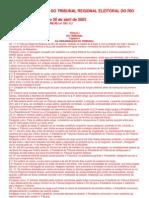 Regimento Interno Do Tribunal Regional Eleitoral Do Rio de Janeiro