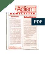 Apliemt Newsletter, ano iii, n. 6,  Cuiabá, Outubro 2002