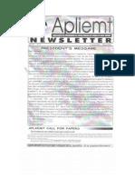 Apliemt Newsletter, Ano IV n. 7, Cuiaba, Maio 2003