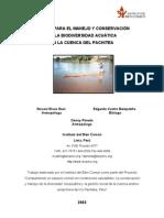 Diagnóstico de la Cuenca del Pachitea