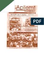 Apliemt Newsletter, Ano Ix, n. 14, Cuiaba, Outubro 2009