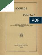 Los Seguros Sociales. (1931)
