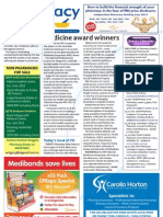 Pharmacy Daily for Fri 25 May 2012 - Medicine awards, Label review, Pharmacist donation, Pharmacy and Social media and much more...