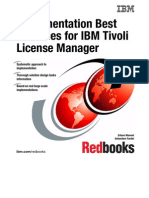 Implementation Best Practices for IBM Tivoli License Manager Sg247222