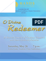O Divine Redeemer Program