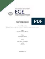 Actividad 11 Reporte individual Indagar prácticas de dirección o procesos directivos