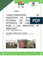 Informe Final Proyecto Inifap Sistema Producto de Yucatán