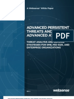 Advanced Persistent Threats and Other Advanced Attacks
