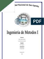 Ingeniería de métodos, practica 8