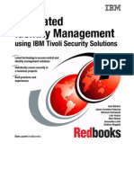 Integrated Identity Management Using IBM Tivoli Security Solutions Sg246054