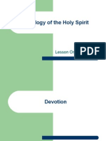 Theology of the Holy Spirit - Lesson 1